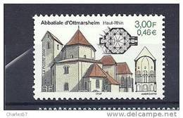 "France:n°3336**  ""Abbatiale De Ottmarsheim "" . Cote 1,00€ - Neufs"