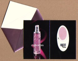 CC Carte Parfumée 'MUGLER' 'INNOCENT ILLUSION' Perfume Card PATCH - Modern (from 1961)
