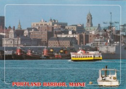 Maine Portland Harbor Scene - Portland