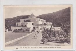 BLIDA. LES GORGES DE LA CHIFFA. L'HOTEL DU ROCHER DES SIGNES. CAP. CIRCA 1900's. ALGERIA- BLEUP - Blida