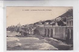 .ALGER. LE BOULEBARD FRONT DE MER A ST EUGENE. A L EDIT. CIRCA 1900's. ALGERIA- BLEUP - Alger