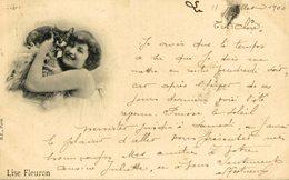1900 +++ LISE FLEURON CHAT CHATS GATO KAT CAT - Gatos