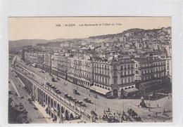 ALGER. BOULEVARDS ET L'HOTEL DE VILLE. A L EDIT. CIRCA 1900's. ALGERIA- BLEUP - Alger