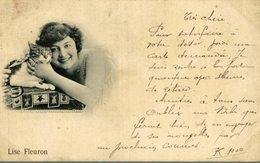 1899 !!!!  +++ LISE FLEURON CHAT CHATS GATO KAT CAT - Gatos