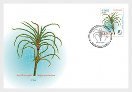 H01 Latvia 2018 Delicate Naiad Dating From The Ice Age FDC - Lettonia