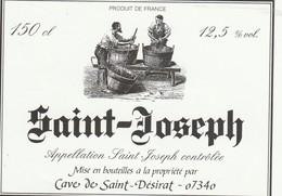 Cotes Du Rhone : SAINT-JOSEPH :  07 Saint-désirat ( Pas De Frais Paypal ) - Côtes Du Rhône