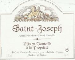 Cotes Du Rhone : SAINT-JOSEPH :  07 Sarras ( Pas De Frais Paypal ) - Côtes Du Rhône