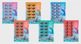 H01 Alderney 2018 Alderney Week MNH Postfrisch Full Sheet - Alderney