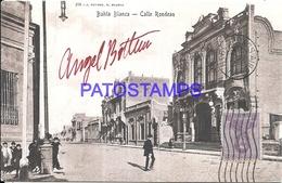 97867 ARGENTINA BAHIA BLANCA BS AS STREET CALLE RONDEAU POSTAL POSTCARD - Argentina