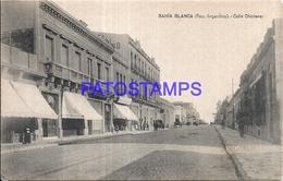 97868 ARGENTINA BAHIA BLANCA BS AS STREET CALLE CHICLANA POSTAL POSTCARD - Argentina