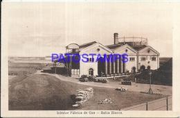 97872 ARGENTINA BAHIA BLANCA BS AS FABRICA DE GAS INTERIOR POSTAL POSTCARD - Argentina