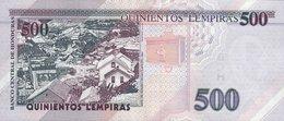 HONDURAS P. NEW 500 L 2012 UNC - Honduras