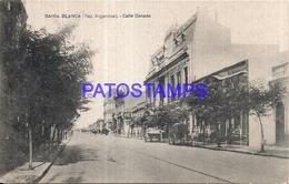 97874 ARGENTINA BAHIA BLANCA BS AS STREET CALLE DONADO POSTAL POSTCARD - Argentina
