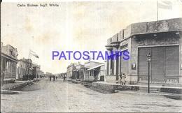 97875 ARGENTINA BAHIA BLANCA BS AS INGENIERO WHITE STREET CALLE SICHES POSTAL POSTCARD - Argentina