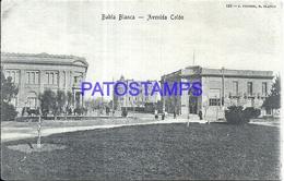 97876 ARGENTINA BAHIA BLANCA BS AS AVENIDA COLON POSTAL POSTCARD - Argentina
