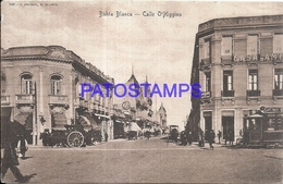 97877 ARGENTINA BAHIA BLANCA BS AS STREET CALLE O'HIGGINS & TRAMWAY TRANVIA POSTAL POSTCARD - Argentina