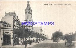 97879 ARGENTINA BAHIA BLANCA BS AS STREET CALLE ALSINA POSTAL POSTCARD - Argentina