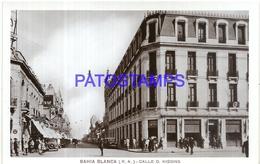 97880 ARGENTINA BAHIA BLANCA BS AS STREET CALLE O. KIGGINS POSTAL POSTCARD - Argentina
