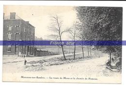 Monceau-sur-Sambre La Route De Mons Et Le Chemin De Hameau - Charleroi