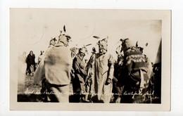 CANADA - Ethnique - RARE CARTE PHOTO - Indiens - Unclassified