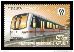 North Korea 2017 Mih. 6359 Metro Cars MNH ** - Korea, North