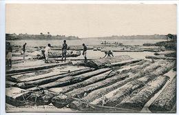 COTE D'IVOIRE Drome D'acajou En Lagune (animée) Ecrite En 1925 - Excellent état - Ivory Coast