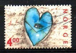 NORVEGE. N°1294 Oblitéré De 2000. Saint-Valentin/Love. - Norwegen
