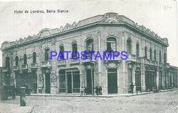 97888 ARGENTINA BAHIA BLANCA BS AS HOTEL DE LONDRES POSTAL POSTCARD - Argentina