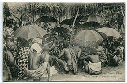 COTE D'IVOIRE Fête Des Morts (très Animée) Ecrite En 1925 - Excellent état - Ivory Coast