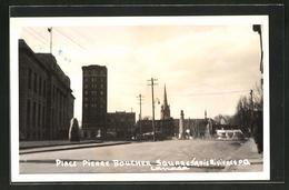 CPA Trois Rivieres, Place Pierre Boucher Square - Unclassified