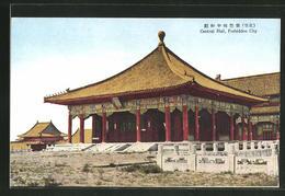 CPA China, Central Hall, Forbidden City - China