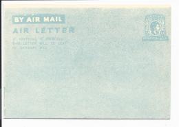 Ceylon LF 11** -  35 Ct  Georg  Air Letter - Sri Lanka (Ceylan) (1948-...)