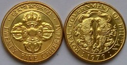 Bhutan 25 Chhertum 1979. UNC Roll - Bhutan