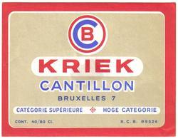 Etiket België 0576 - Beer