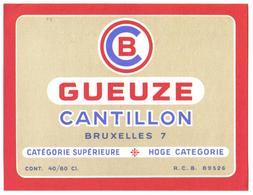 Etiket België 0580 - Beer