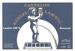 Etiket België 0597 - Beer