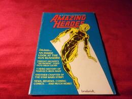 AMAZING  HEROES   No 40 - Books, Magazines, Comics