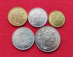 Guinea Bissau 50 Cent. 1 2.50 5 20 Peso 1977 FAO Guine - Guinea-Bissau