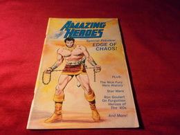 AMAZING  HEROES   No 26 - Books, Magazines, Comics
