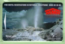 New Zealand - 1996 Motel Marketing Rotorua $5 - NZ-A-161 - Mint - Neuseeland