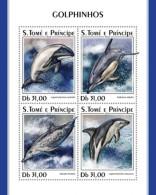 Sao Tome  And PrIncipe 2018   Dolphins S201807 - Sao Tome Et Principe