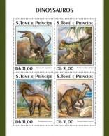 Sao Tome  And PrIncipe 2018 Dinosaurs  S201807 - Sao Tome And Principe
