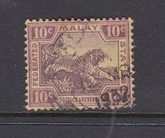 Malaysia-Federated Malay States, SG 43 1904 Grey Brown And Claretr,used - Malaya (British Military Administration)