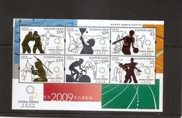 HONG KONG CHINA Souvenir Sheet 2002 EAST ASIA GAMES SPORTS MNH Scott 1381a - 1997-... Chinese Admnistrative Region