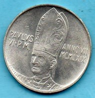 VATICAN  500 LIRE  1969  Km#115  Silver / Argent - Vatican
