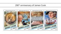 SIERRA LEONE 2018   James Cook S201807 - Sierra Leone (1961-...)