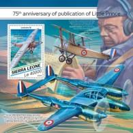SIERRA LEONE 2018  Little Prince  Airplanes S201807 - Sierra Leone (1961-...)