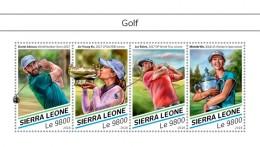 SIERRA LEONE 2018  Golf  S201807 - Sierra Leone (1961-...)
