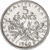 FRANCE LOT DE 14 PIECES DE  5 FRANCS ARGENT SEMEUSE (SUP) ............... - France