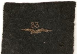 Intéressant Souvenir Radio Rauwel Au 33e Régiment D'Aviation D'Observation (RAO), Rhénanie, Insigne Brodé, 1925 - Patches